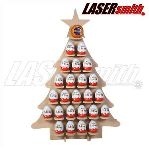 Christmas Tree Advent Calendar for Kinder Egg, Ferrero Rocher & Choc Orange   71121349709442