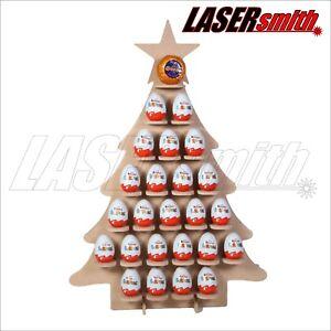 Calendario Para Kinder.Details About Christmas Tree Advent Calendar For Kinder Egg Ferrero Rocher Choc Orange