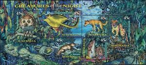 1998-AUSTRALIA-Creatures-of-the-Night-M-S-MNH