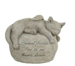 Dog With Wings Memorial Faithful Companion Pet Statue Large 21cm Figurine