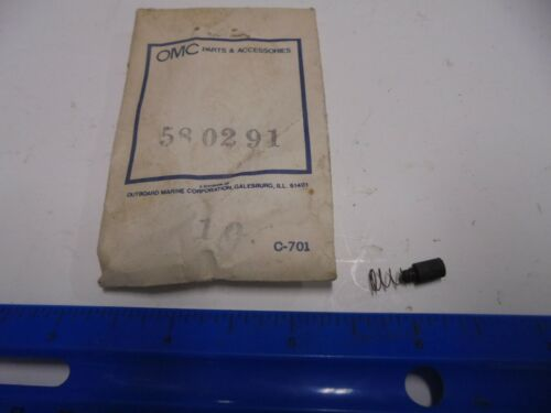 Genuine OMC Johnson Evinrude Brush /& Spring #580291 New