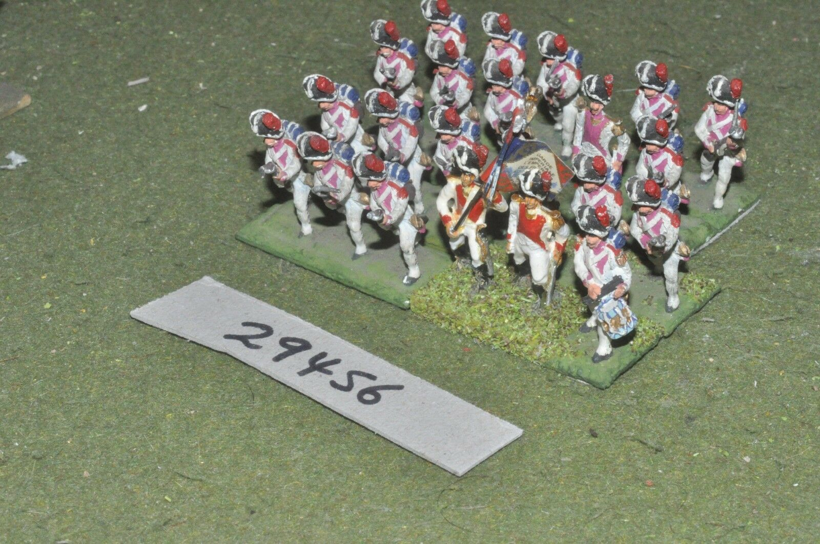 25mm napoleonic   french - dutch grenadiers 22 figures - inf (29456)
