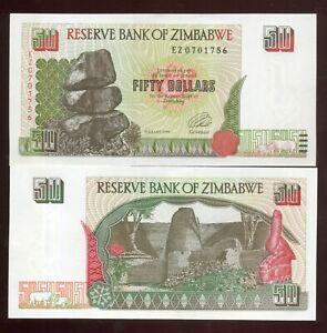 ZIMBABWE    RARA      50       DOLLARI       1994    FDS