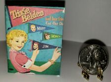 1:12 SCALE MINIATURE BOOK GATEHOUSE MYSTERY TRIXIE BELDEN DOLLHOUSE