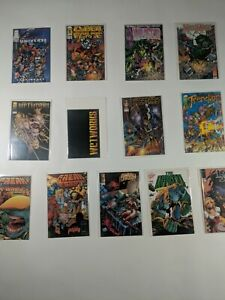 Lot Of 13 Image Comics Wetworks Savage Dragon Cyber Force Trencher