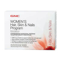 Gnc Hair, Skin, & Nails Program 30 Days Program Collagen Support Skin Hydration