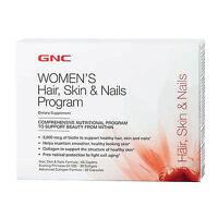 Gnc Hair, Skin, & Nails Program 30 Days Program Collagen Support Skin Hydration