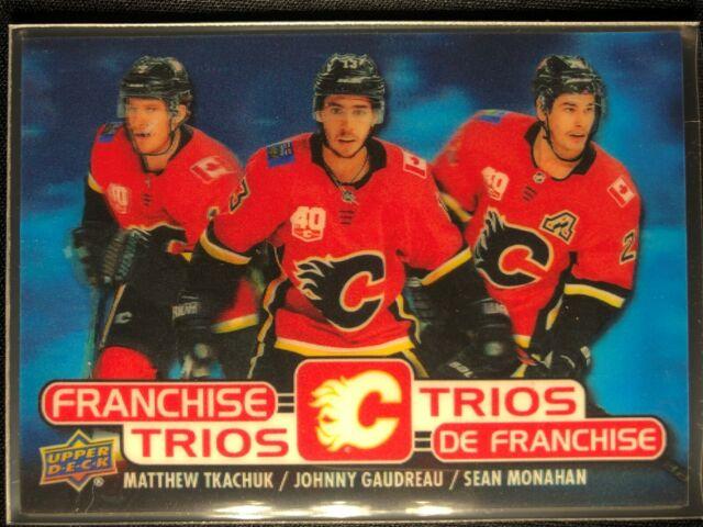 2020-21 Tim Hortons Franchise Trios Calgary Flames