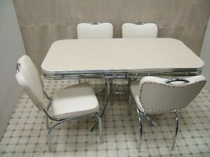 Office Cabin Interior Design, Bel Air American Style Retro 50s American Diner Furniture Kitchen Table Chairs Ebay