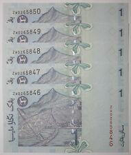 (PL) RM 1 ZW 0265846-50 UNC 1 ZERO LOW & FANCY NUMBER REPLACEMENT PAPER NOTE