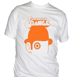 Détails sur Fm10 T-Shirt Homme Orange Mécanique