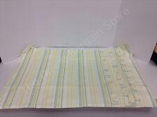 Pottery Barn Teen Sweet Ruffle Stripe Bed Bedroom Pillowcase Standard Green