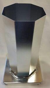 2-3-4-034-x-6-1-2-034-OCTAGON-Pillar-Metal-Candle-Mold-NEW