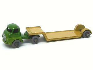 Matchbox-Lesney-No-27b-Bedford-034-cargador-de-bajo-tipo-muy-raro-verde-oscuro