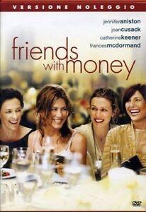 Friends-with-Money-DVD-RENT-NUOVO-Sigillato-Aniston-Cusack