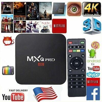 MXQ PRO Android 7.1 1G+8G S905W 4K 3D Smart TV BOX Kd 17.6 Wifi Media Streamer