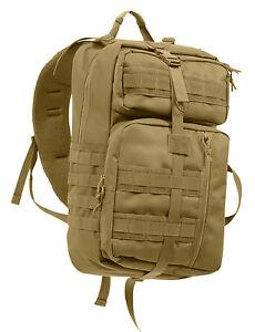 Schultertasche Verborgen 25120 Taktisch Carry Kojote Ccw Rucksack Braun Rothco gU11dwq