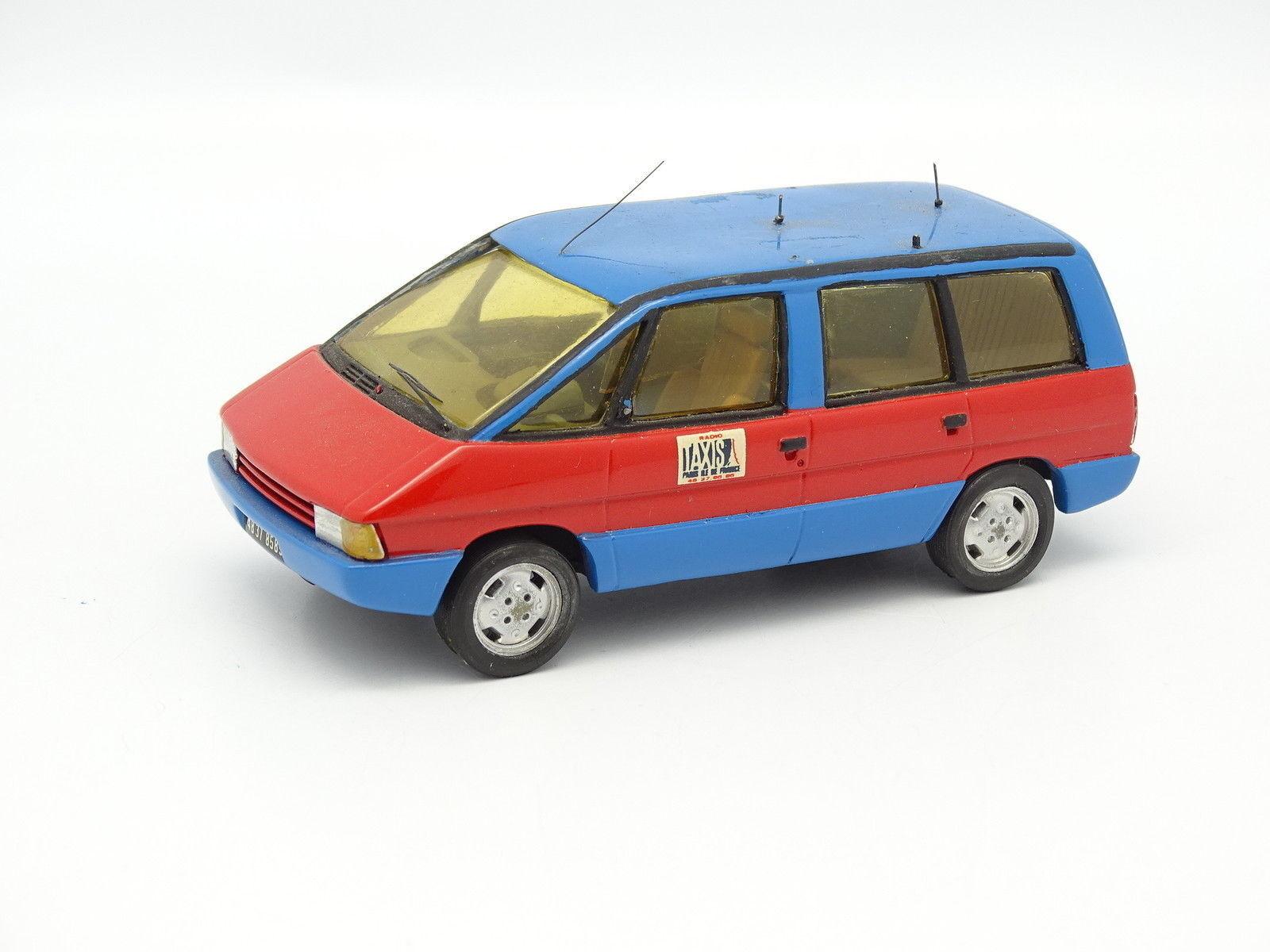 Gaffe Kit monté Résine 1 43 - Renault Renault Renault Espace 1 Taxi Paris b03418
