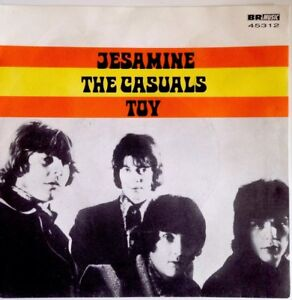 THE-CASUALS-Mint-7-034-Vinyl-Jesamine-Toy-Br-music-45312