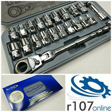 Blue Point 22pc 38 Pass Thru Socket Set As Sold By Snap On