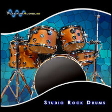 Hard Rock Drum Kit Pristine Hat Kik Snare Cymbal Sample Halion Reason Kontakt