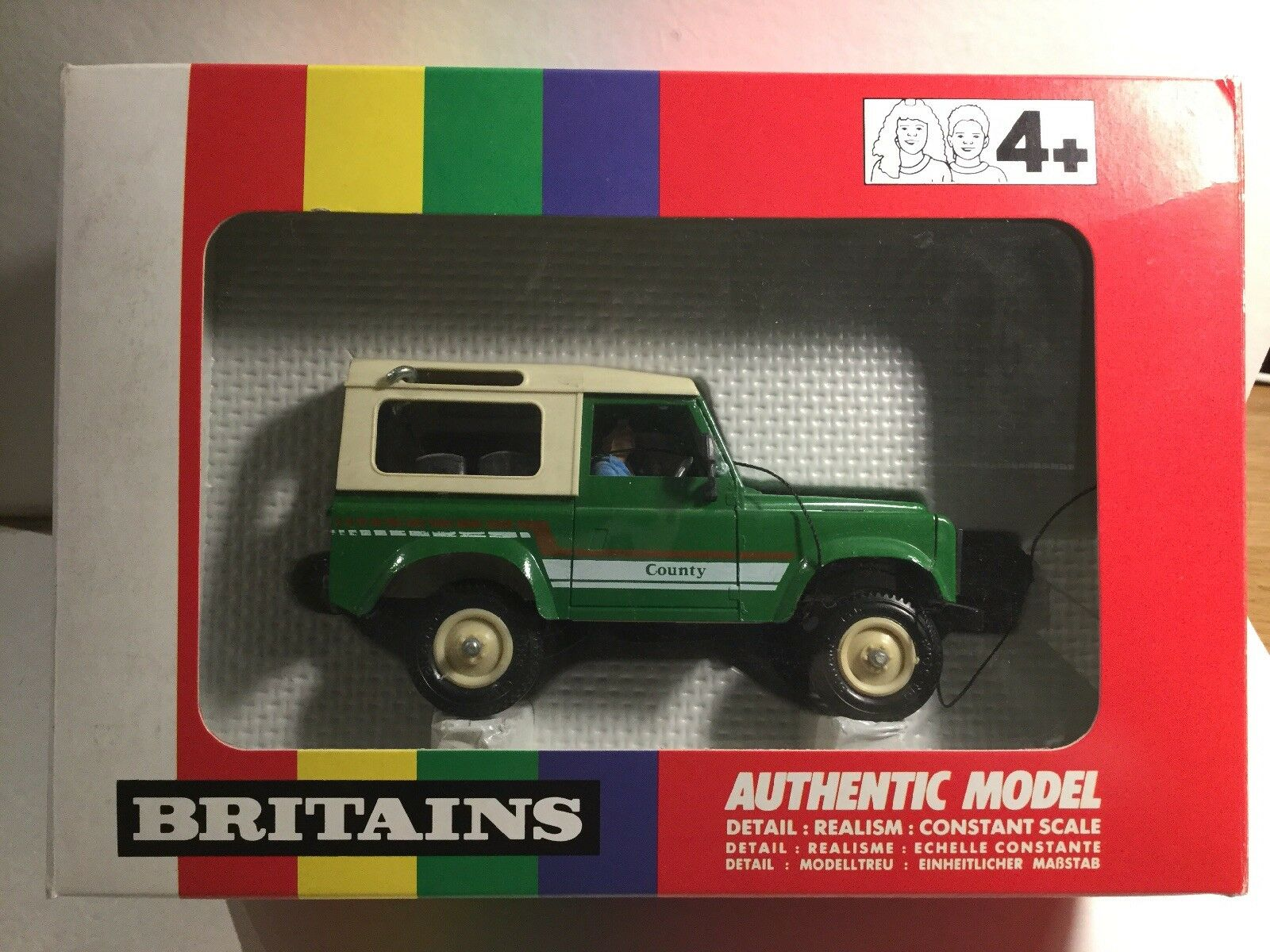 Jahr Britains 9512 Landwirtschaft Land Rover Within Its Original Box