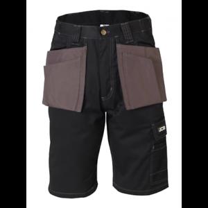 JCB Workwear Keele Shorts Noir//Gris