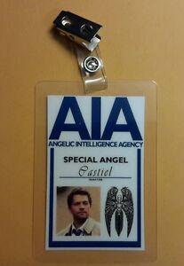 Supernatural-Identificacion-Badge-Aia-Especial-Angel-Castiel-Prop-Traje-Cosplay