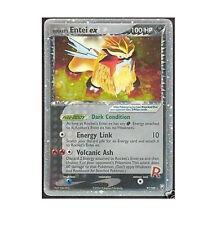 TEAM ROCKET'S ENTEI EX 97/109 Ultra Rare Star Holo Foil Pokemon Card