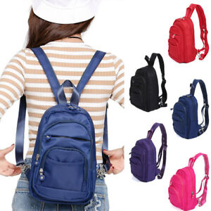 Convertible-Nylon-Small-Mini-Backpack-Rucksack-Sling-Pack-Purse-Light-Weight