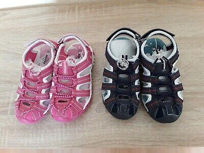 Kinder Sandalen Trekkingsandalen Outdoorschuh Schuhe Geschlossen Wandern 25-30