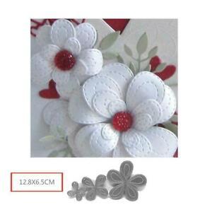 Hollyhocks-Flower-Metal-Cutting-Dies-New-2019-For-Craft-Dies-Scapbooking-U2E3