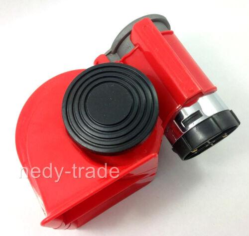 2Klang Hupe Horn für Auto 12V Kompressor extrem laute LKW PKW Boot Caravan