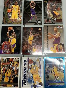 kobe bryant basketball cards lot