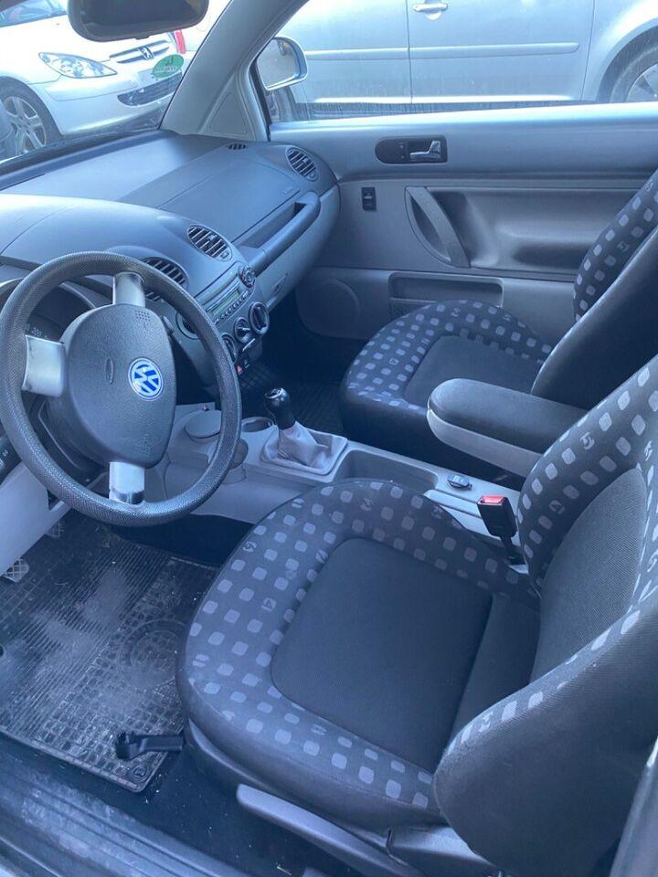 VW New Beetle 2,0 Highline Benzin modelår 1999 km 212000