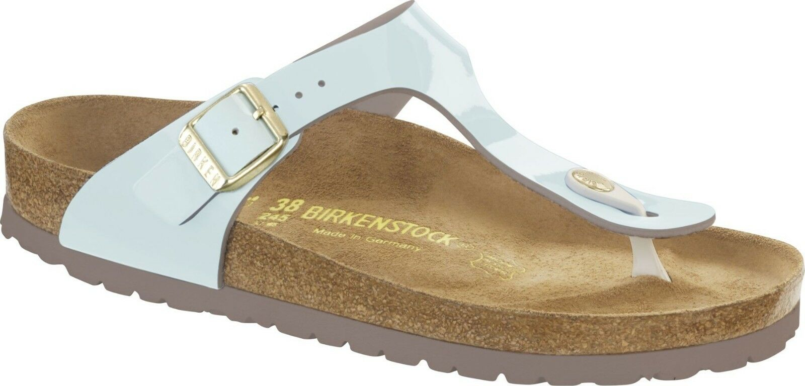 Birkenstock Cream Gizeh Two Tone Water Cream Birkenstock Größe 35-42 Fußbett normal 826ee3