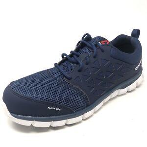 Details about Reebok Shoes Men's Alloy Toe ESD RB4043 Sublite Cushion Athletic Shoes Size 13