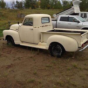 1950 Chevrolet Project Truck Resto Mod