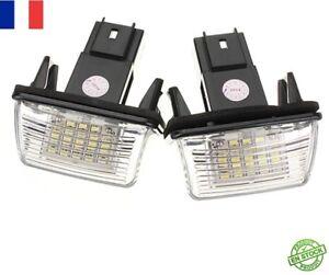 2x C3 Plaque Ampoule Sur Citroen Lampe Neuf D'immatriculation Eclairage Détails Led Feux uKcTJl1F53