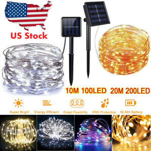 100-200-LED-Solar-Power-Fairy-Lights-String-Lamps-Party-Xmas-Deco-Garden-Outdoor
