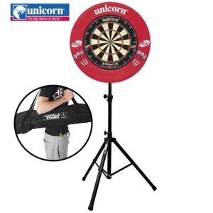 Unicorn-Striker-Dartboard-Set-with-Surround-Darts-amp-Gorilla-Arrow-Pro-Stand