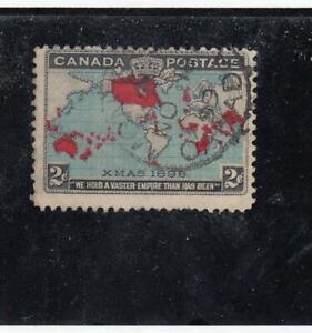 CANADA-MK4427-86b-FVF-USED-2cts-IMP-PENNY-POSTAGE-DP-BLUE-MTL-CANCEL-CAT-10