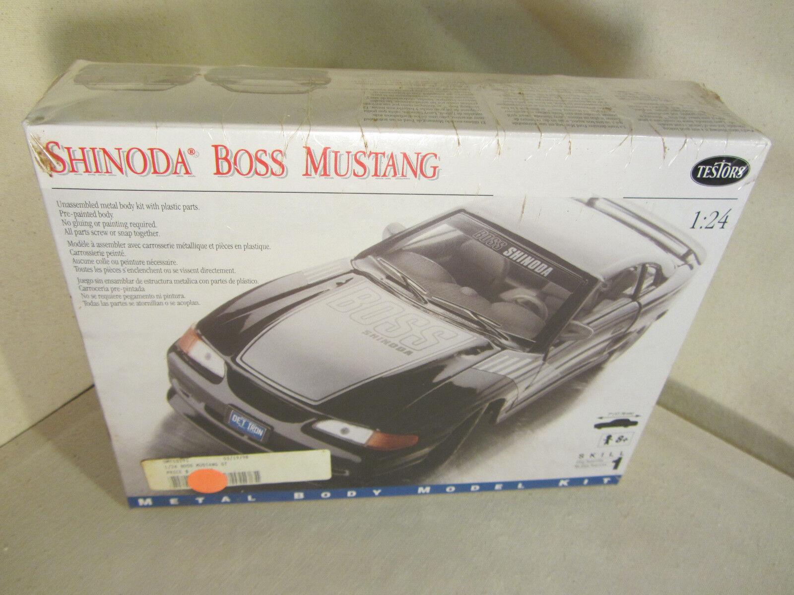 Ford Shinoda Boss Mustang Testors Metal Tiendamia Com