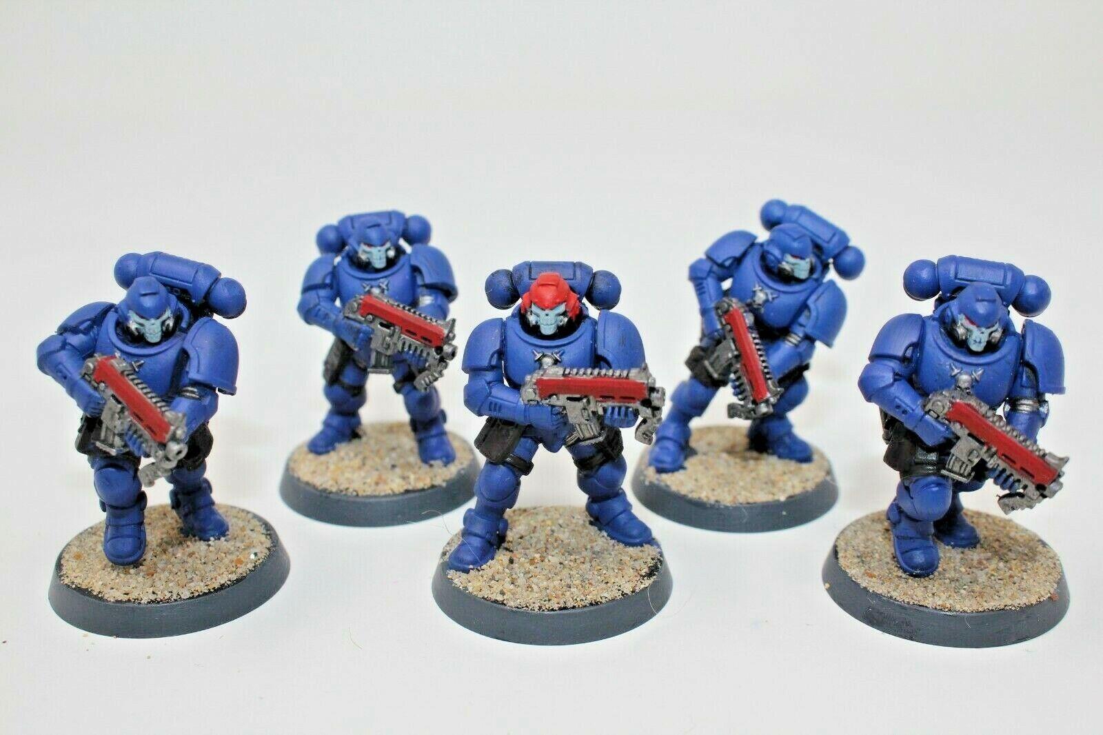 Warhammer Space Marines Primaris Reivers Well Painted - JYS91