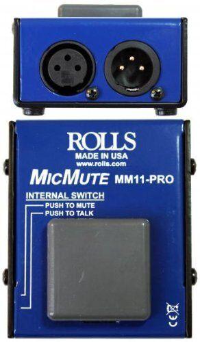 Rolls MM11PRO Pro//switchable Mic Mute