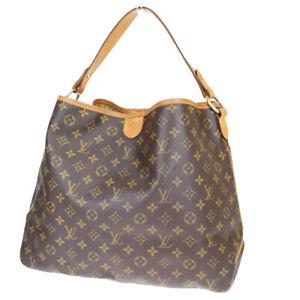 Mm Shoulder Bag Monogram Leather Bn