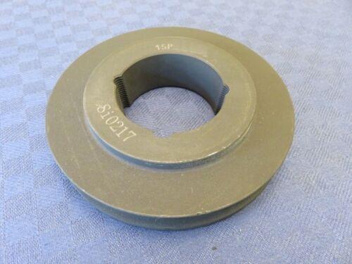 DA 113mm für Buchse 1610 Taper Keilriemenscheibe 1-rillig SPB//17mm DW 106mm
