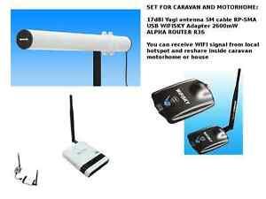antenne 2 4ghz richtungs wifi signal receiver teilen. Black Bedroom Furniture Sets. Home Design Ideas