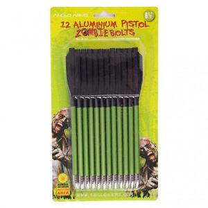 12-Aluminium-Pistol-Zombie-Bolts-6-039-5-inch