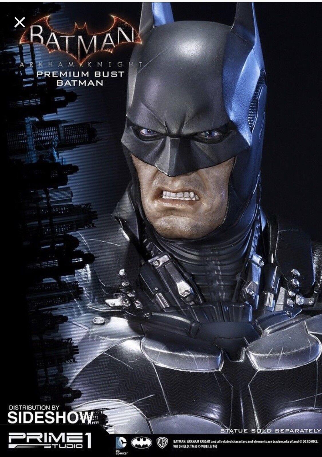 PRIME 1 STUDIO ARKHAM KNIGHT BATMAN 1 3 BUST BRAND NEW